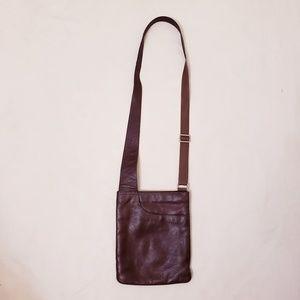 Radley London Brown Leather Crossbody Bag